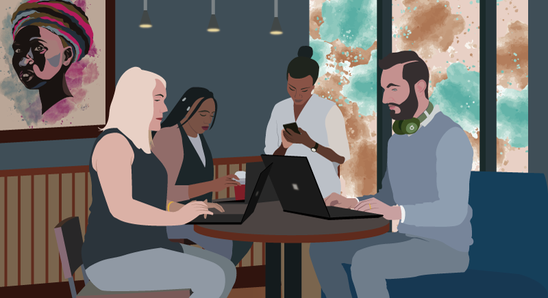 Coworking spaces in nairobi, But what is ToffeeTribe?